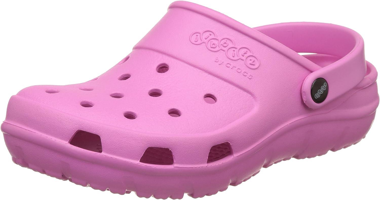 Crocs Sandales Presley Clogs Rose Fille