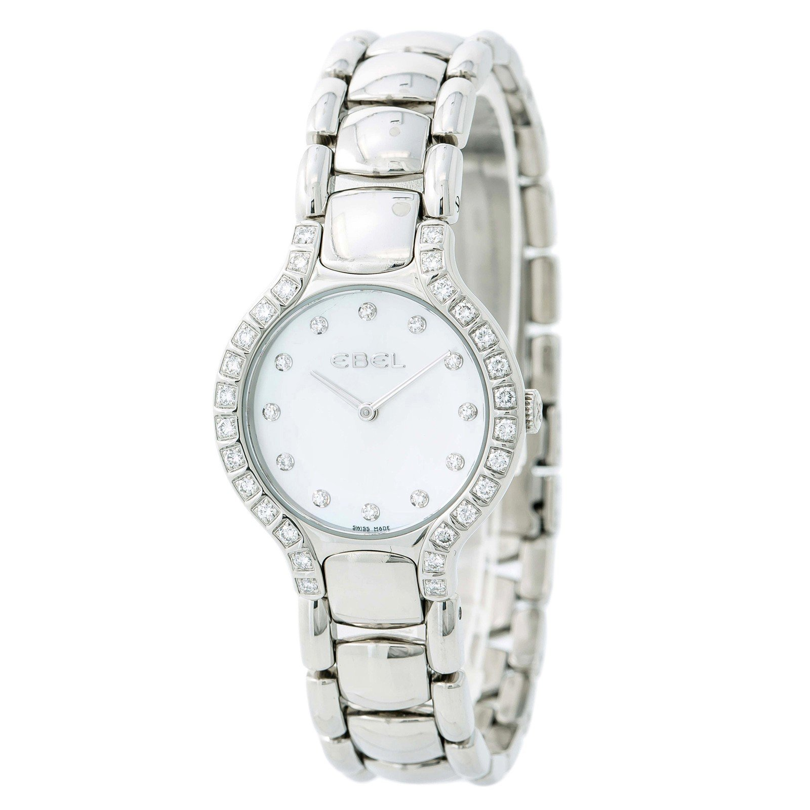 Ebel Beluga quartz womens Watch E9157428-20 (Certified Pre-owned)