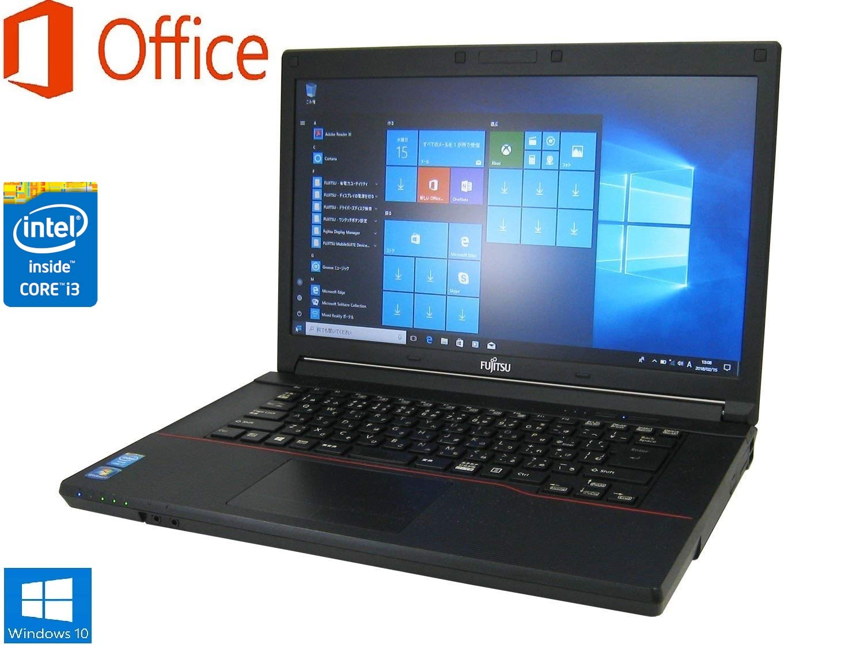 新品SSD480GB【Microsoft Office 2016搭載】【Win 10搭載】富士通 LIFEBOOK A574/H ■ 第4世代Core i3/メモリ8GB/新品SSD480GB/DVDーマルチ/最新OS Windows10/64bit搭載 B07JMTQP67, ツガマチ 177674ae