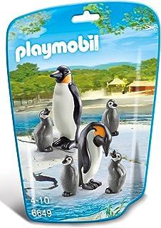 Playmobil - Familia de pingüinos (66490)