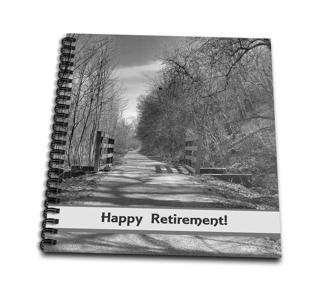 3dRose db_179285_2 Trail of Shadows, Retirement-Memory Book, 12 by 12-Inch by 3dRose