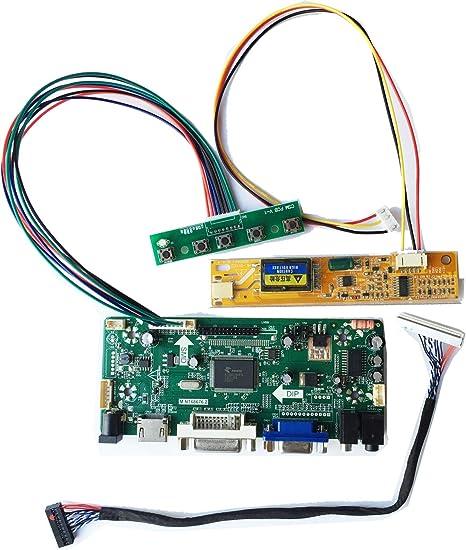 HDMI+DVI+VGA  Controller Board Monitor Kit for LCD led 1280×800 LTN141W1-L02