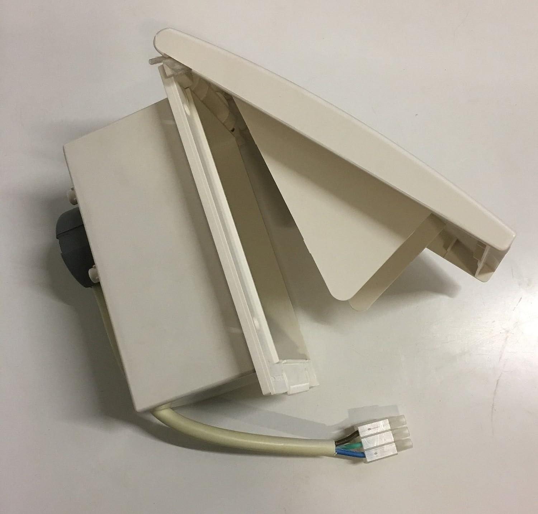 Campervan//Motorhome 240v Hook-up Kit,240v Sockets,RCD /& MCB Consumer Unit White