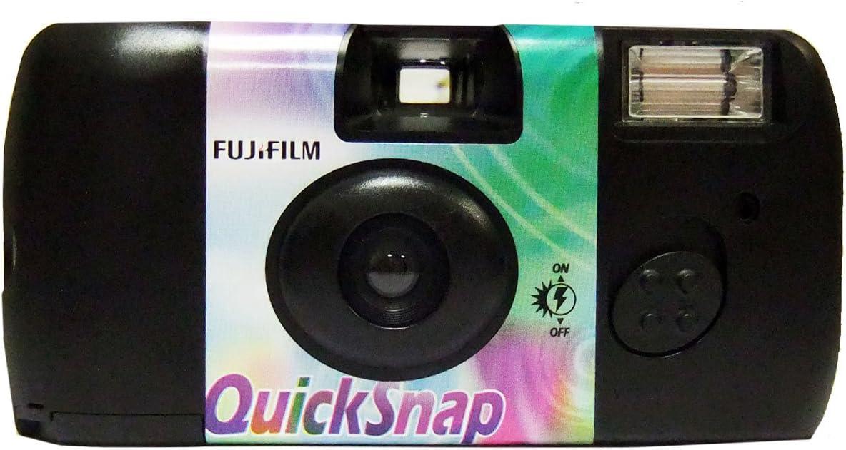 5x Fujifilm Quicksnap Flash Einwegkamera 27 Bilder Kamera