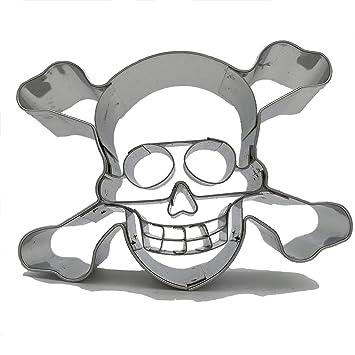 Lares Piratas Calavera Hornear Galletas O Manualidadesde Acero