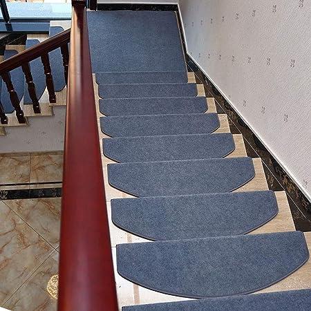 DaPeng Alfombra para La Escalera, Juego de 15 Alfombras De Poliéster (Color : Gray, Size : 80 * 24 * 3CM): Amazon.es: Hogar