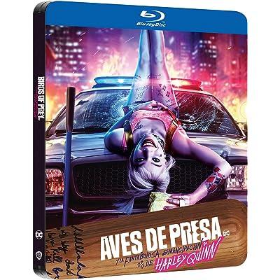 Aves de Presa (y la Fantabulosa Emancipación de Harley Quinn) - Edición Metálica [Blu-ray]