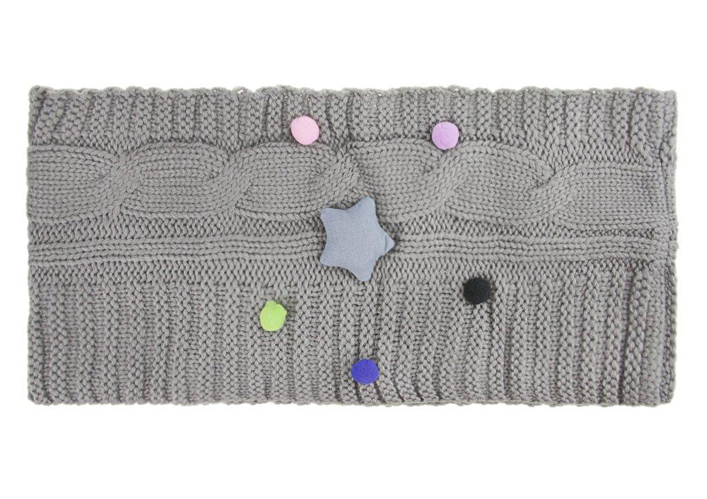 YJZQ Écharpe étoiles Cercle écharpe châle avec Grosse Torsade Cache-Cou  Tubulaire en Maille Snood Agrandir l image de2823c40e3