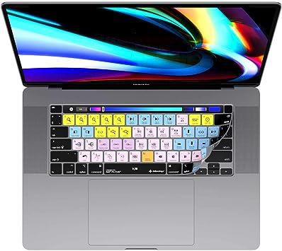 Avid Pro Tools - Cubierta de teclado para MacBook Pro de 13 y 16 pulgadas (2020 en adelante), diseño de teclas de editores originales 2019/2020