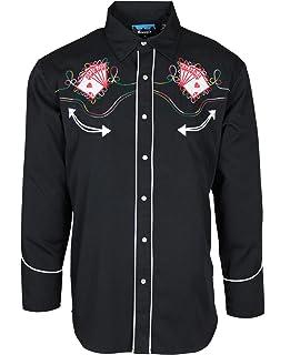 Benny/'s Horseshoes Khaki Western Shirt