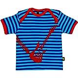 Rockabye-Unisex Baby Guitar Tee shirt Short Sleeve T-Shirt (Blue/Purple)
