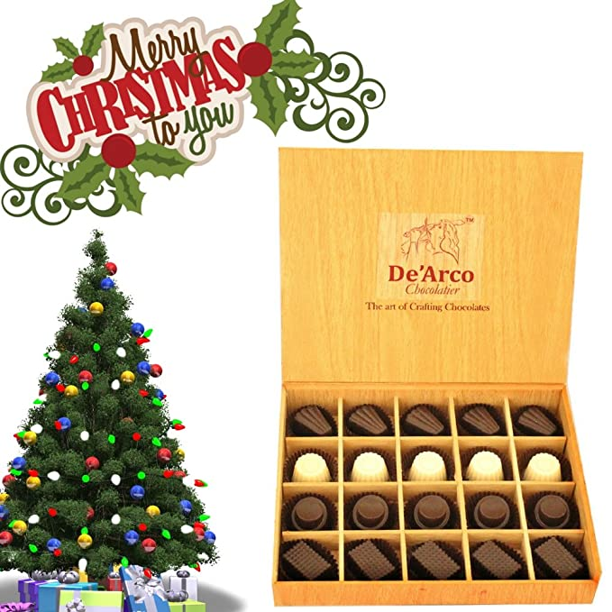 Christmas And New Year Wishes.Christmas And New Year Chocolates De Arco Christmas And New