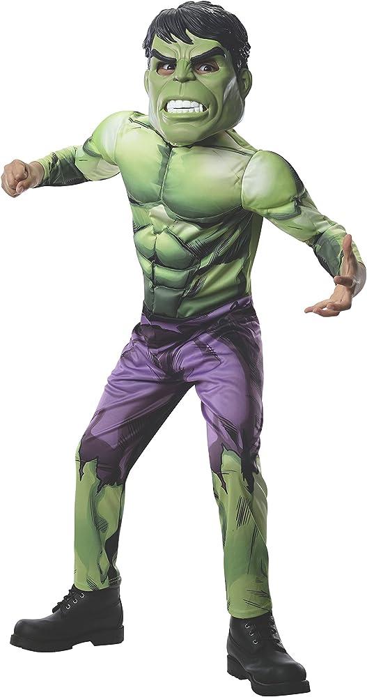 Rubies Disfraz de Hulk Vengadores Unidos para niño - 8-10 años ...