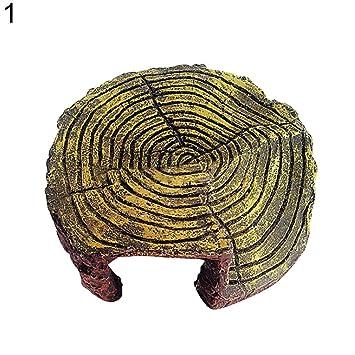 Greenlans Figura decorativa de resina para acuario de pecera, estilo tortuga: Amazon.es: Productos para mascotas