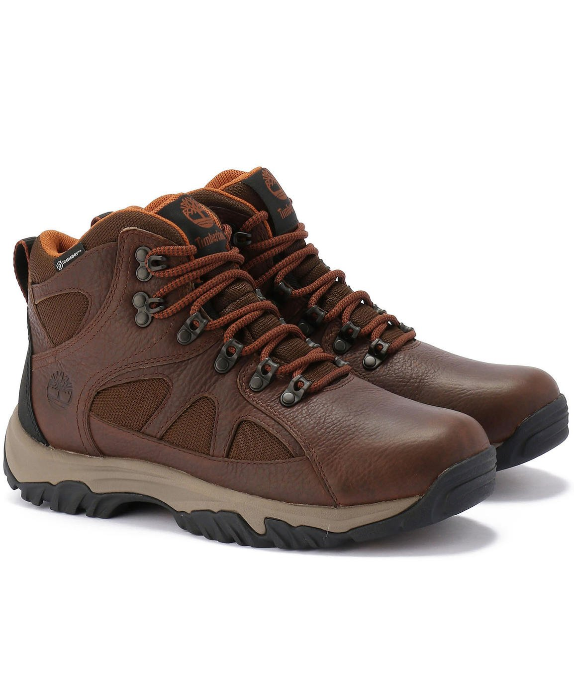 Timberland CA1AOX Men's Bridgeton Mid Waterproof Hiking Boots, Brown, 9 M US