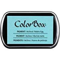 CLEARSNAP ColorBox Pigment Ink Pad Clásico, Tamaño Completo, Boysenberry, Robins Egg, 1