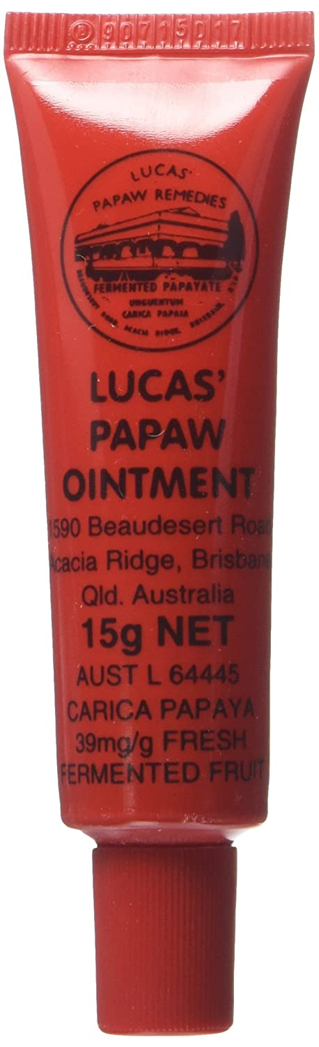 Lucas Papaw Ointment 15g Tube with Lip Applicator (Made in Australia)