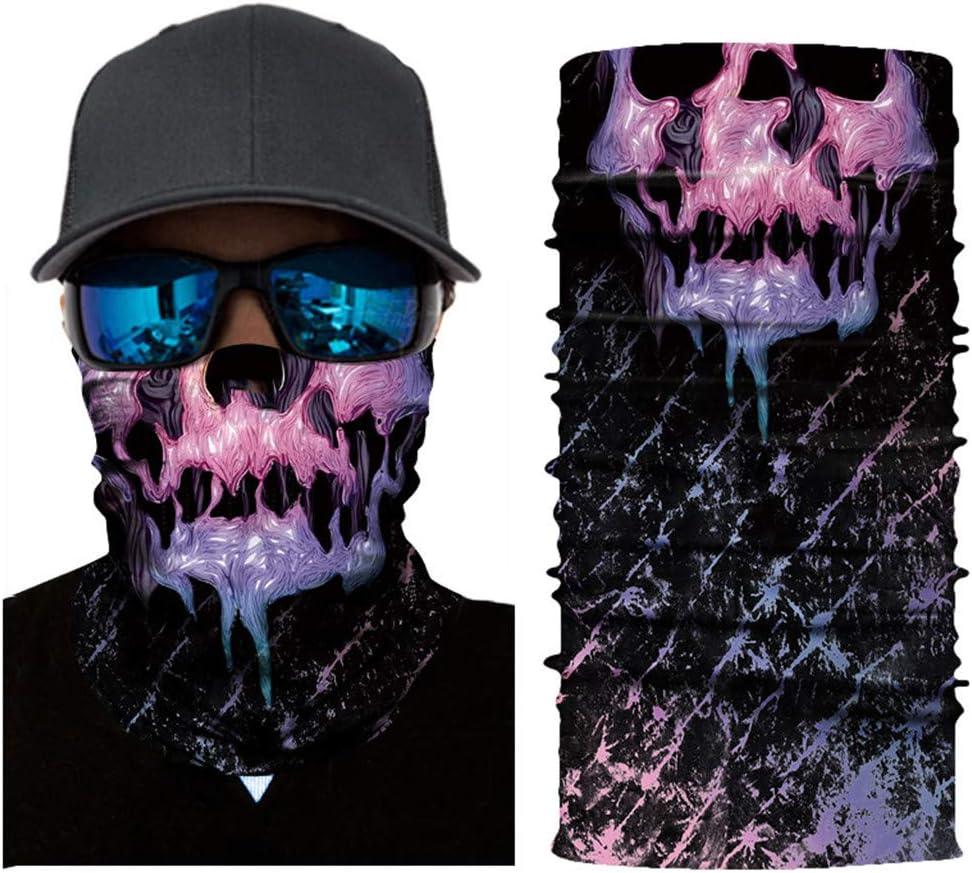 Windproof D fuqimama Motorcycle Head Scarf/-/Neck Warmer Face Mask Ski Balaclava Headband/-/Sunscreen Sand Control