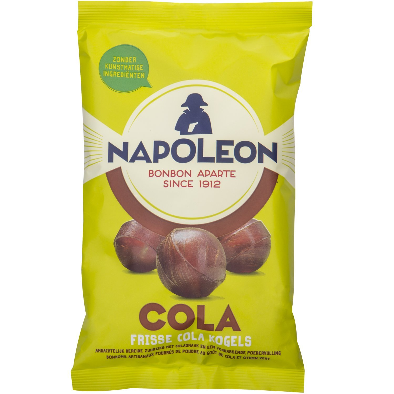 Napoleon Cola Candies (2 x 150g) - Cola balls with lemon powder