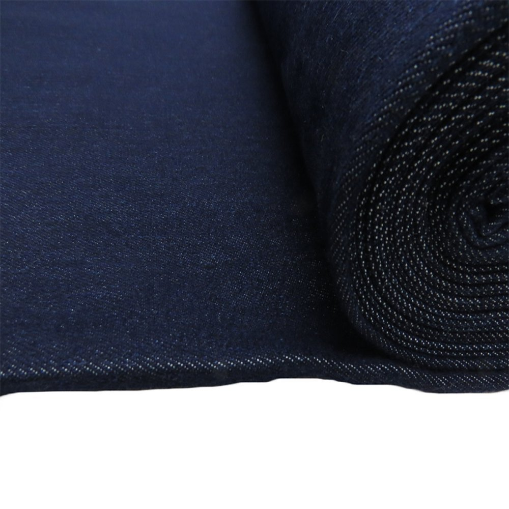 100/% Polyester Brushed Stretch Jersey Dressmaking Fabric in Blue Purple Indigo
