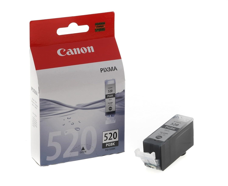 2 Canon PGI-520BK Schwarz Drucker Tintenpatronen 2932B001AA
