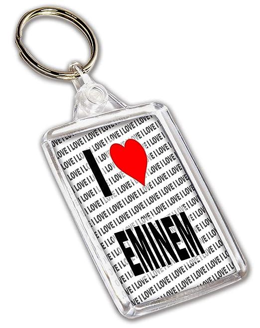 Eminem Keyring