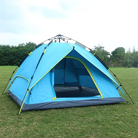 694a112bdab Automatic Pop Up Tent Backpacking Tents OUTAD for Outdoor Sports Camping  Hiking Travel Beach with Carrying