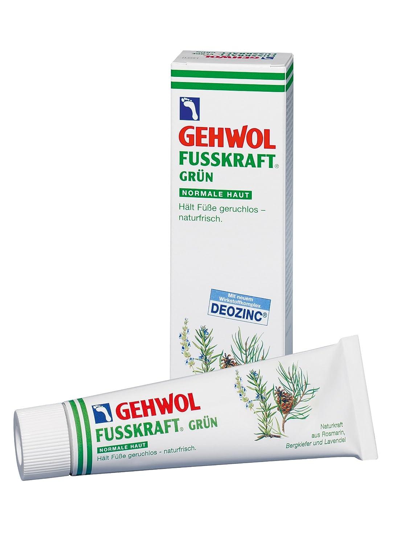 Gehwol Fusskraft® verde per pelli normali rinfrescante crema piedi previene i cattivi odori ai piedi 125ml tubo