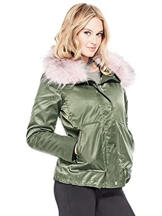 a81b788035216 GUESS Women s Jade 2-Piece Jacket at Amazon Women s Clothing store