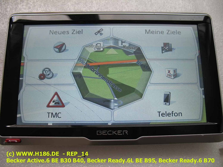 Becker navegación be b71 Display