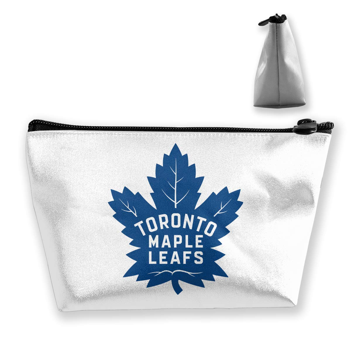 Trapezoidal Bag Makeup Bag Toronto Maple Leafs Logo Storage Portable Travel Wash Tote Zipper Wallet Handbag Carry Case hfaw
