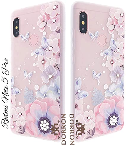 low priced 845e8 6b151 DORRON Girls 3D Floral Print Bling Design Fancy Soft: Amazon.in ...