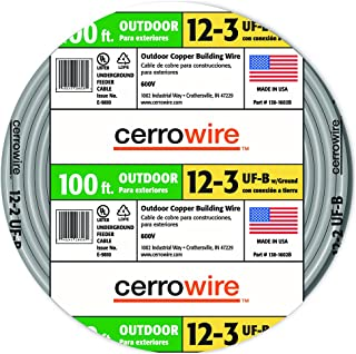 product image for Cerrowire 138-1603CR-2 12-3 UF Wire, 100-Foot