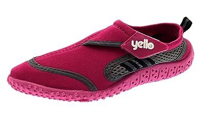 998f89155d7e Urban Beach Womens Ladies Girls Berry Aqua Shoes Water Socks Sandals FW585  Beach Swim SEA SURF