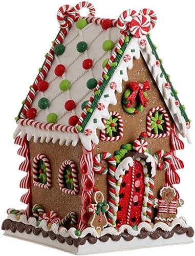 RAZ Imports 13.5 in. Gum Drop Gingerbread House