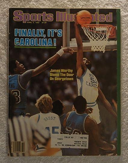 ee3ddf153f6 James Worthy - North Carolina Tar heels - 1982 National Champions! - Sports  Illustrated -