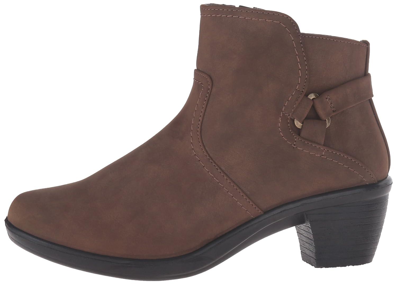 Easy Street Women's Dawnta Ankle Bootie B01JQJSJXU 10 2A(N) US|Brown Matte