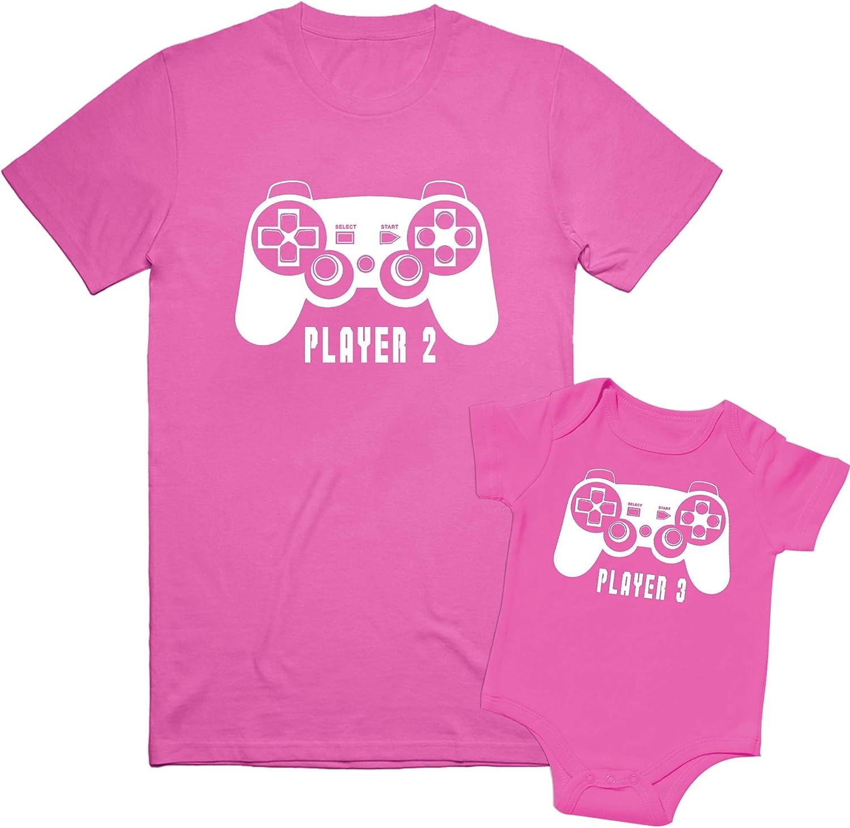 Texas Tees Gamer Sibling Shirts for Sisters and Brothers Player 2 Shirts Player 1 Shirts
