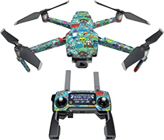 product image for Jewel Thief Decal Kit for DJI Mavic 2/Zoom Drone - Includes 1 x Drone/Battery Skin + Controller Skin