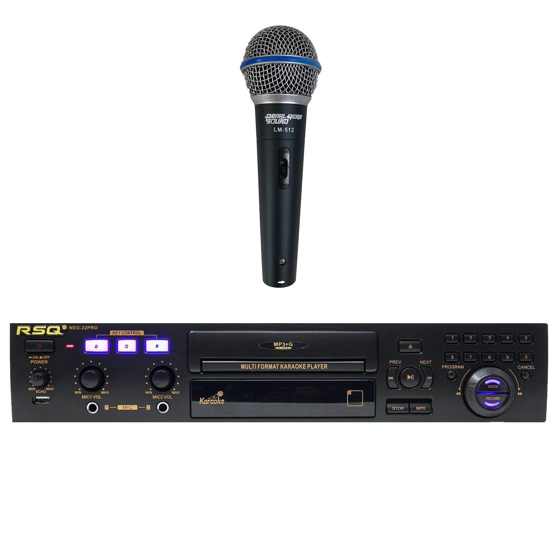 RSQ NEO 22 PRO Series 2 Digital Bluetooth Karaoke 500 Free Songs Player CDG Machine MP3G by RSQ (Image #1)