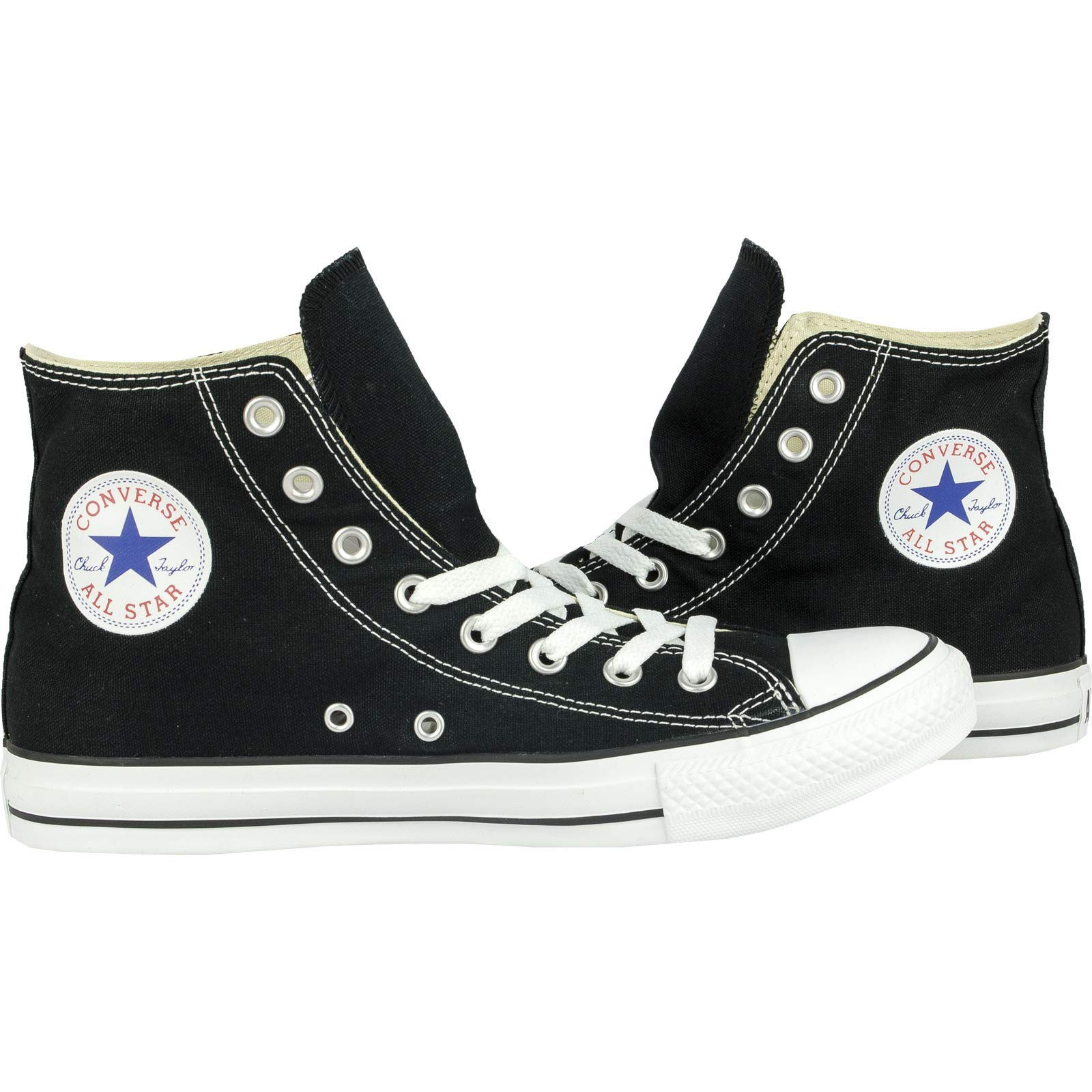 Chuck Taylor All Star Canvas High Top, Black, 4 M US by Converse (Image #7)