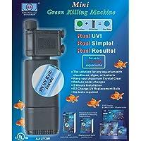 Mini Green Killing Machine Aquarium UV Filter Sterilizer with 3W UV Bulb Inside