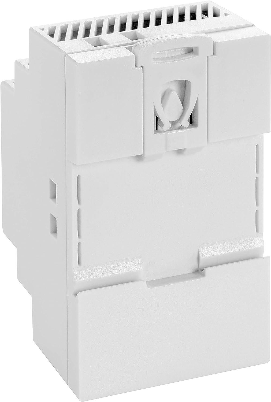 Poppstar Netzteil f/ür Hutschiene wei/ß DIN Rail Netzteil//Trafo f/ür Hutschienen 78 * 92 * 61mm Input 100-240 V AC 50//60 Hz, Output 12 V DC 2,5 A 30 W