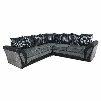 Enjoyable Cheap Online Furniture Shannon 2C2 Corner Sofa In Jumbo Cord Short Links Chair Design For Home Short Linksinfo