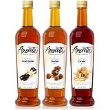 Amoretti Premium Classic Syrups 750ml 3 Pack