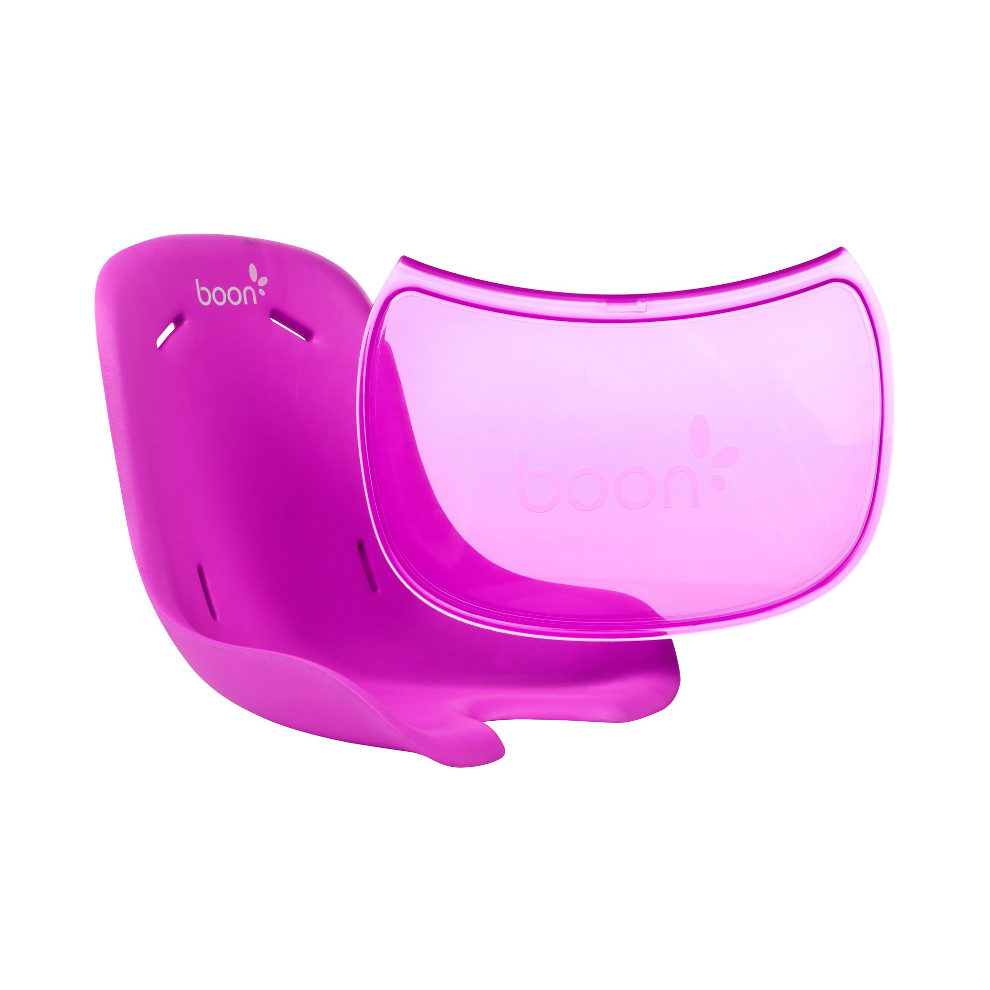 Boon Flair Chair Seat Pad Plus Tray Liner,Pink