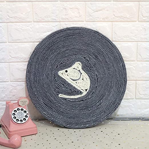 LIUQIAN Mascota Gato agarrar cojín sisal Captura Giro sofá ...