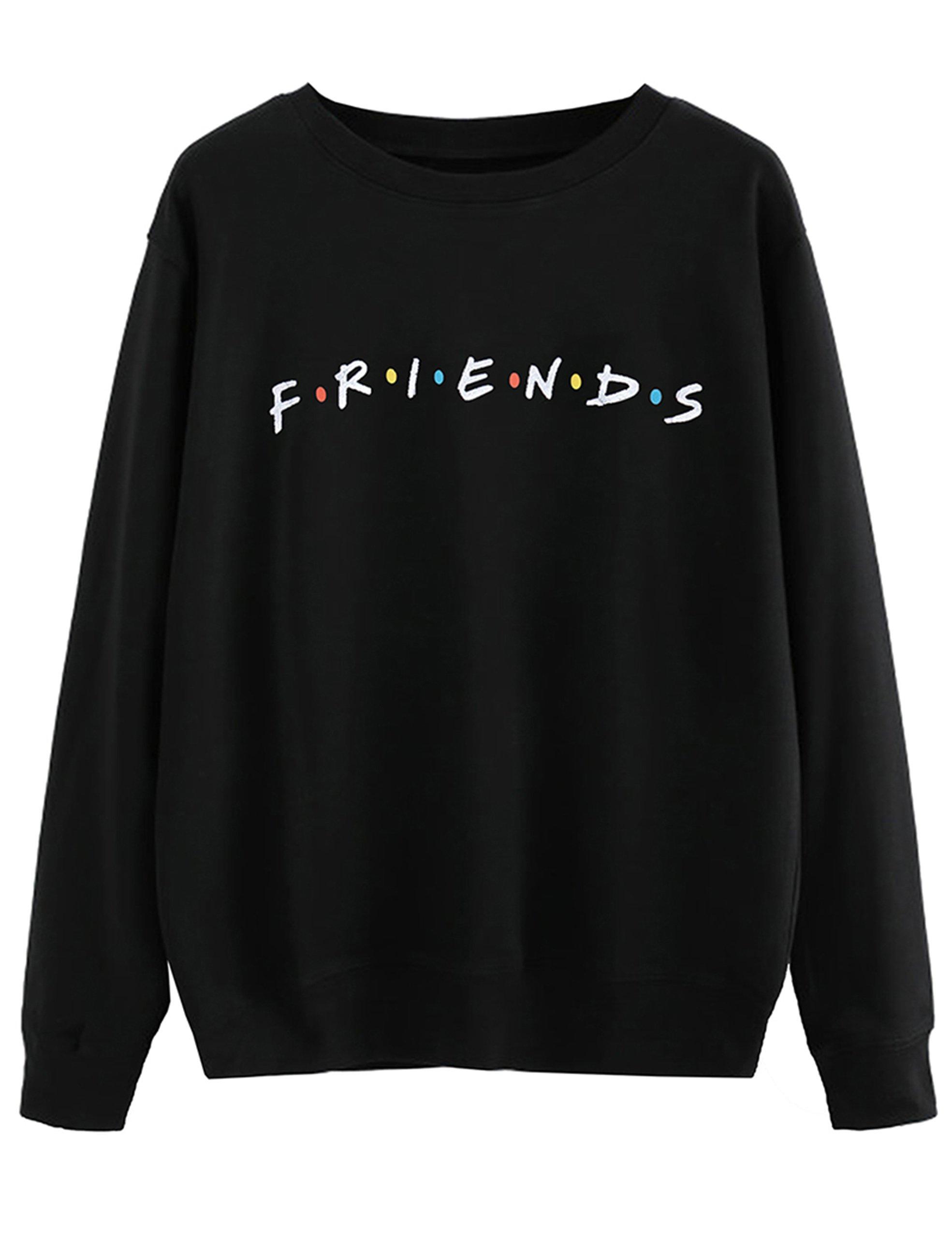MISSACTIVER Women's Sweatshirt Letter Print Lightweight Pullover Top