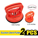 WOWLED Suction Cup Dent Puller Remover Heavy Duty Vacuum Lifter Removal for Pulling Automotive Car Door Dent Body Glass Tiles Phone Screen Damage Sucker Puller Lifting