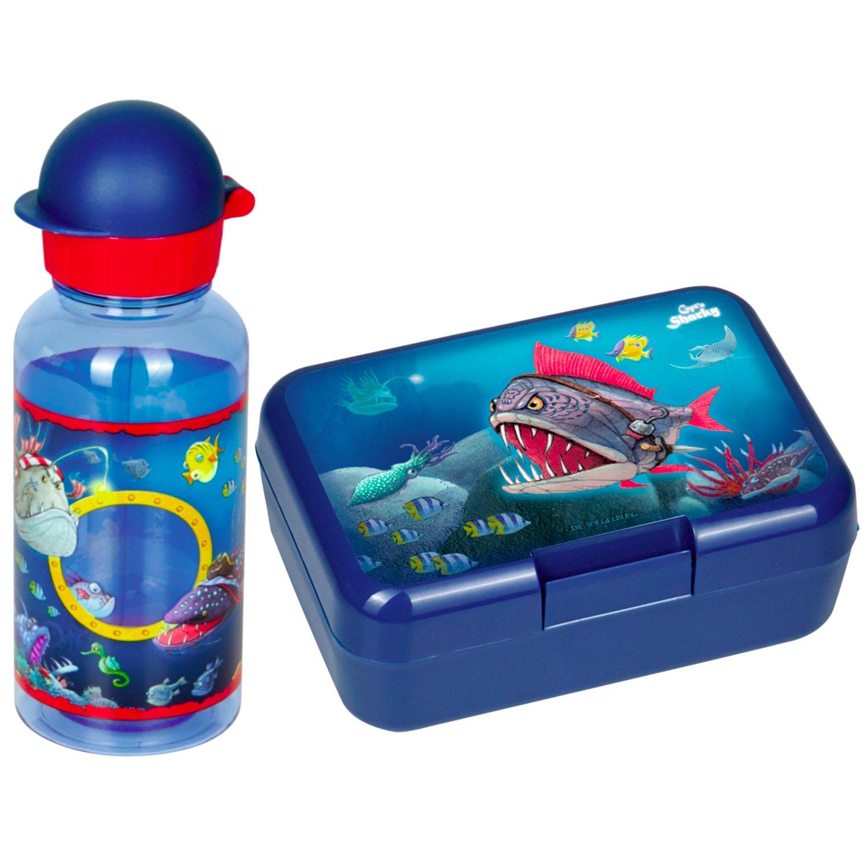 Spiegelburg Capt`n Sharky 2er Set 14575 14596 Brotdose + Trinkflasche